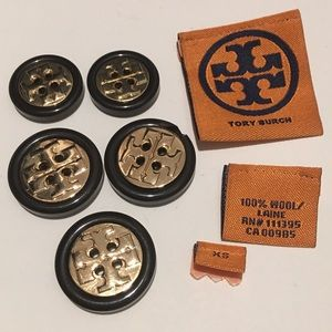 Tory Burch Cardigan Buttons And Tags